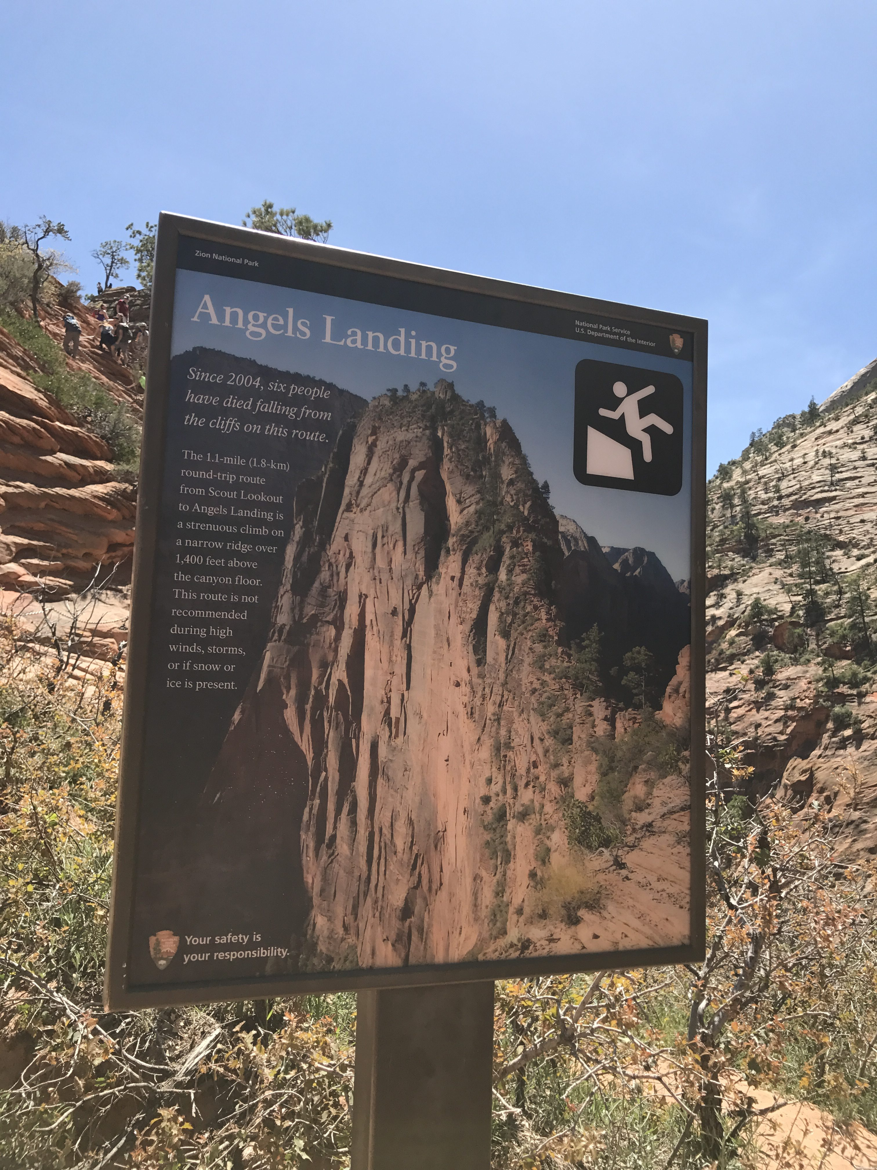 5 Tips hiking angels landing