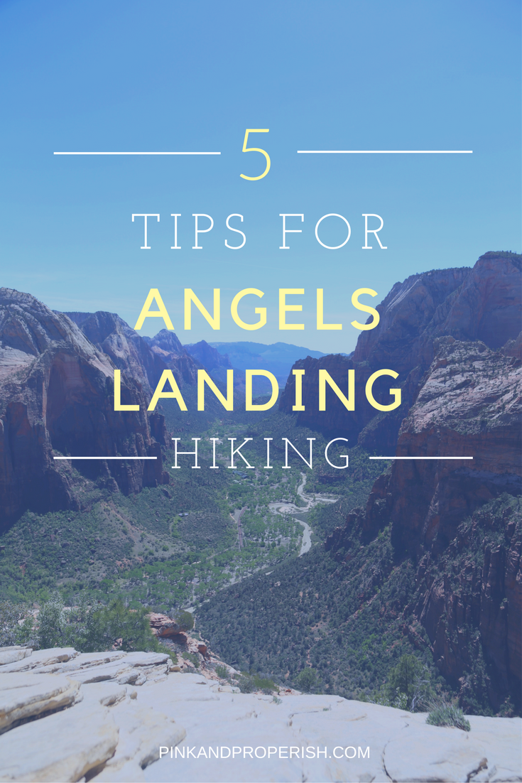 Are you looking for your next big adventure? Take a trip to Zion National Park in Utah and experience some of the best hikes in the country. Check out these 5 tips for hiking Angels Landing one of the toughest most rewarding hikes in the park!