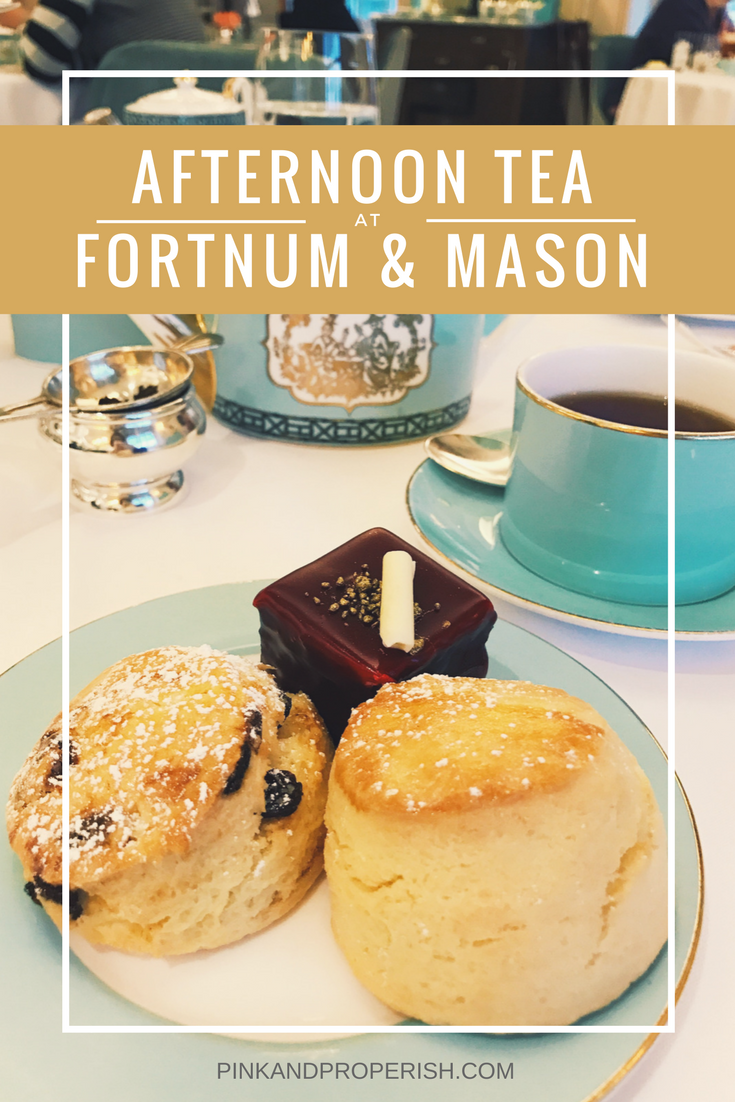 Fortnum & Mason Afternoon Tea Review