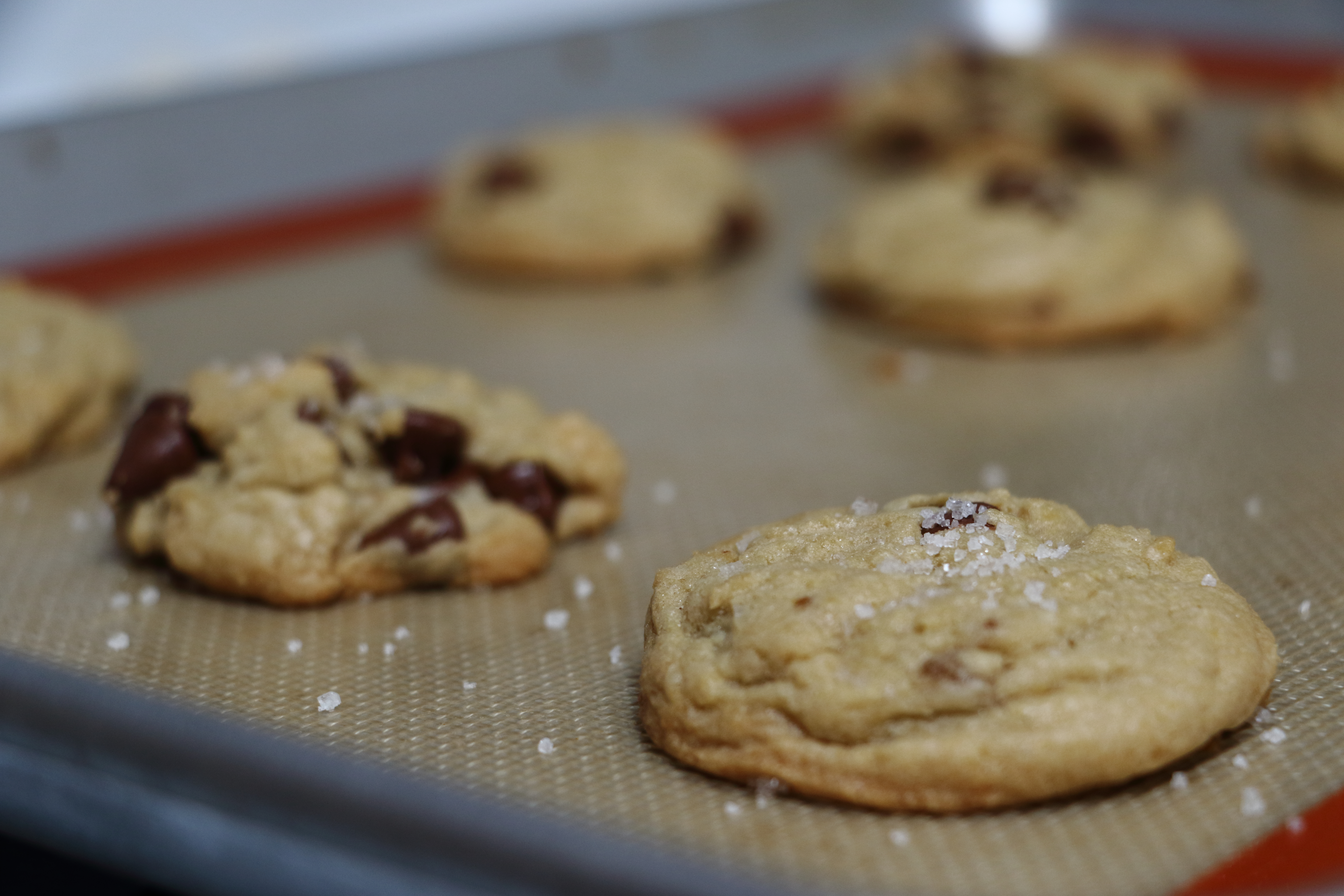 Fleur de Sel Chocolate Chip Cookies