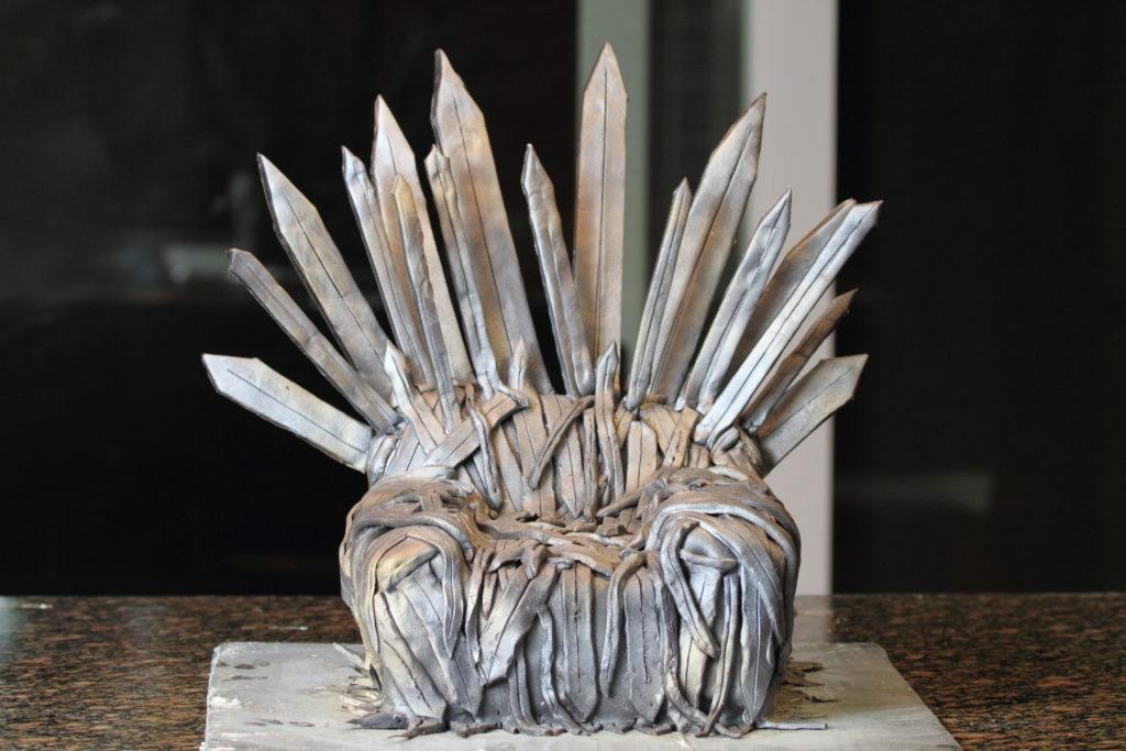 The Iron Throne Cake