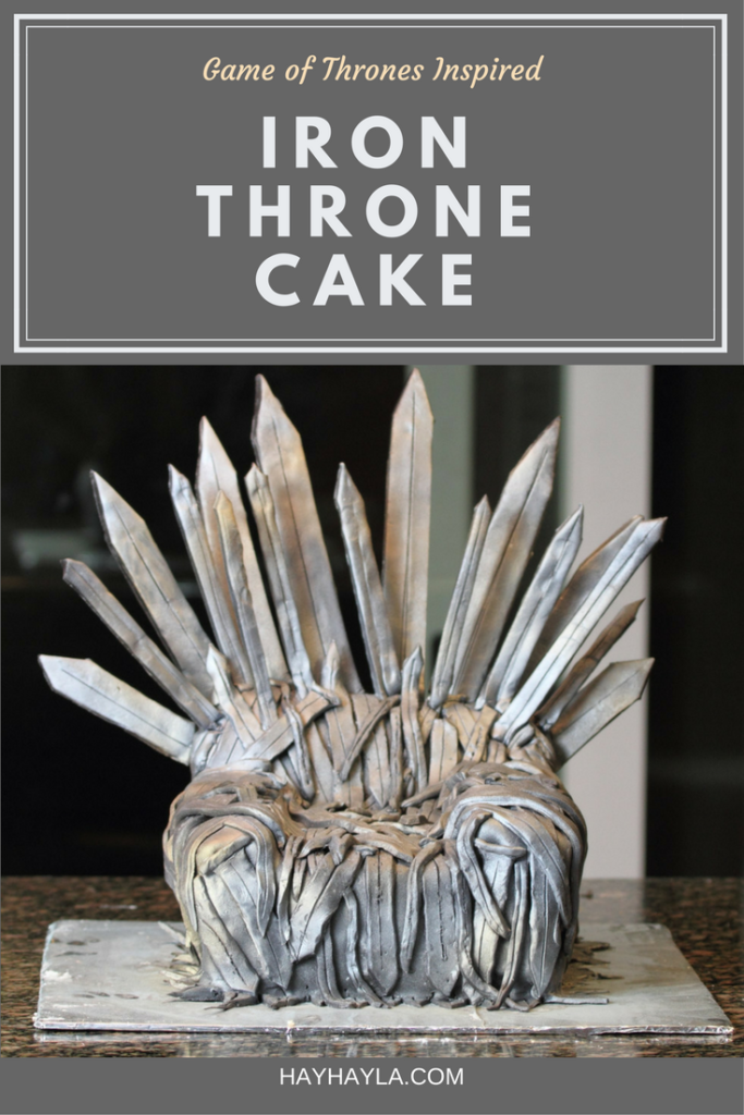 DIY Game of Thrones Inspired Cake