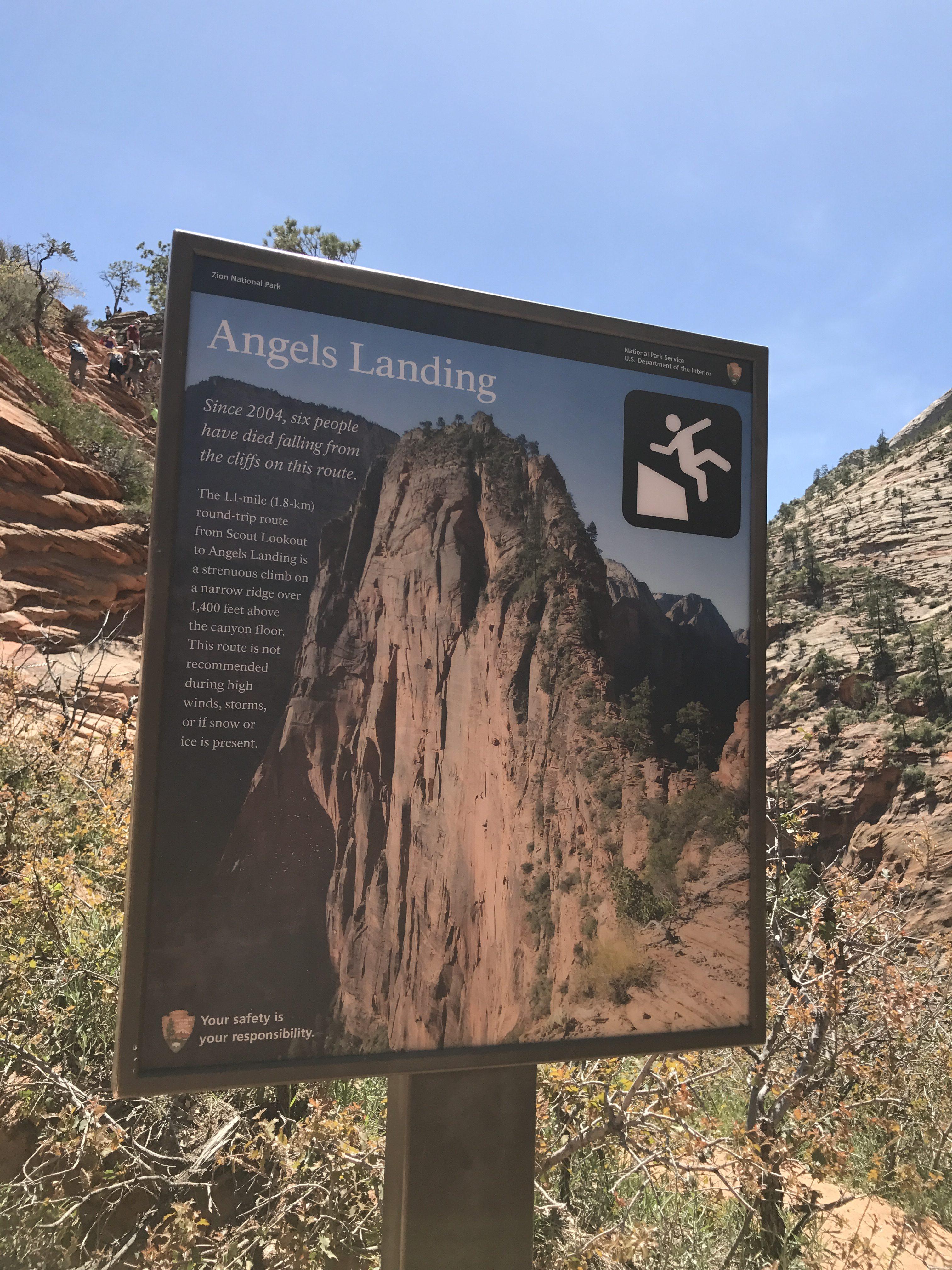 5 Tips hiking angels landing