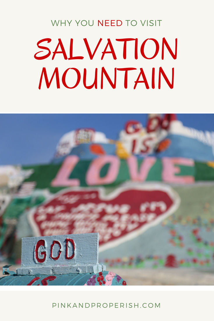 Tips for visiting Salvation Mountain
