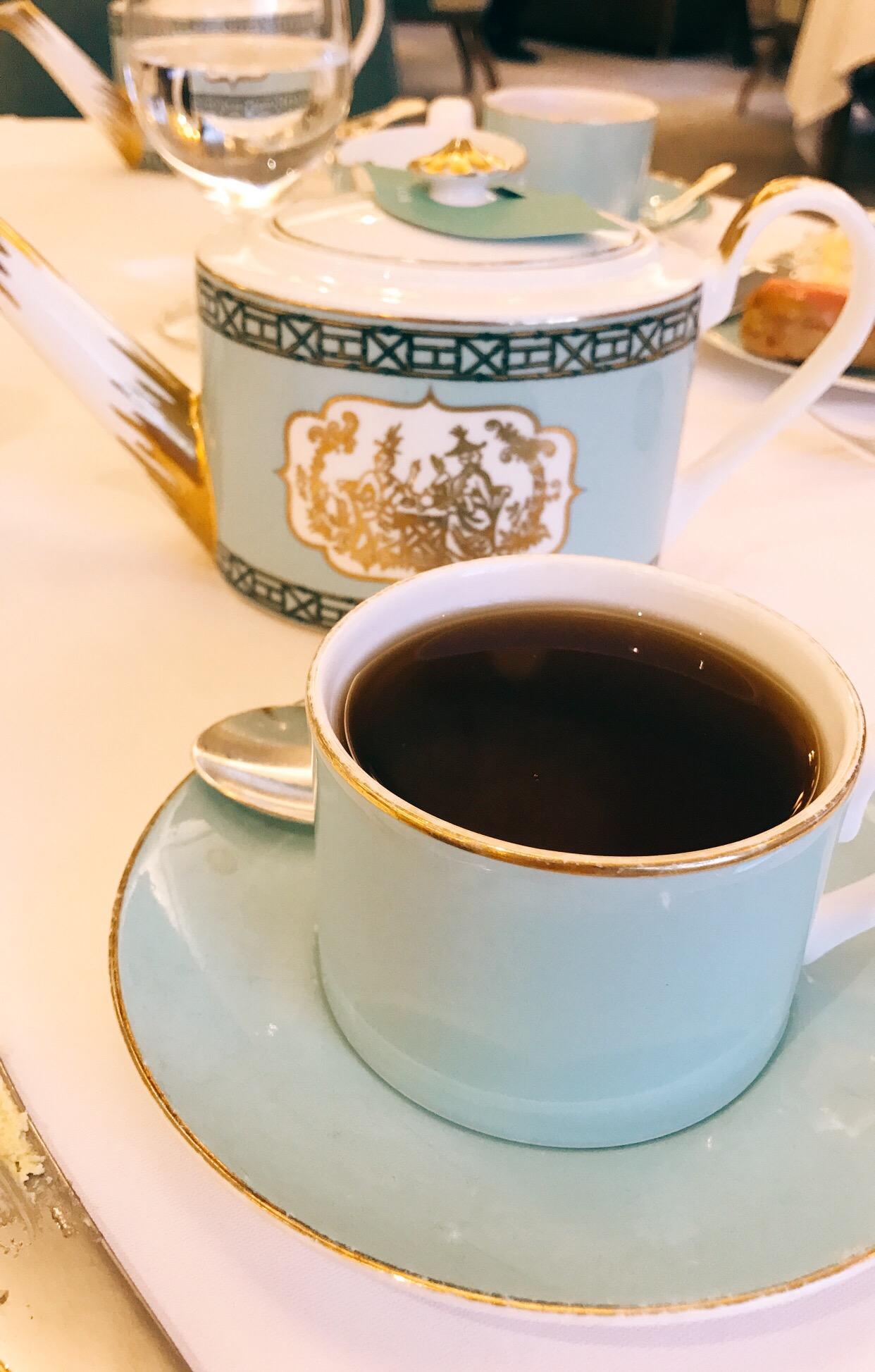 Afternoon tea at Fortnum & Mason